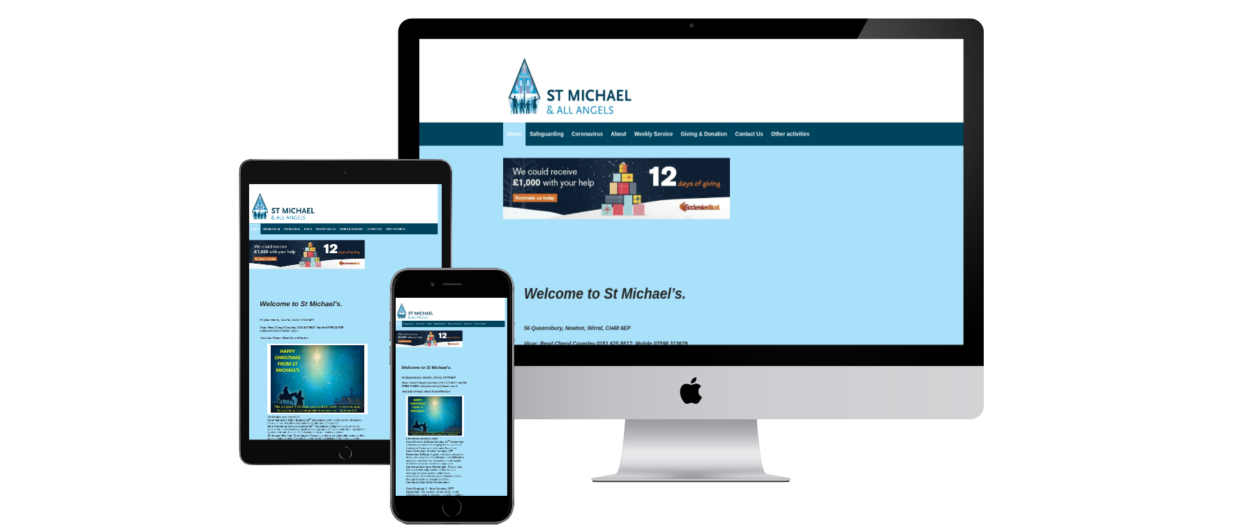 St Michael's - Website Designed by Alba Digital Solutions